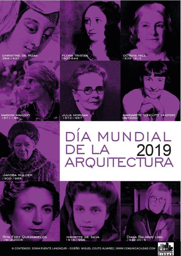 DIA MUNDIAL DE LA ARQUITECTURA2019